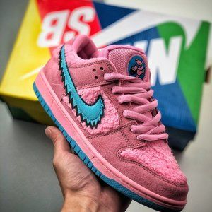 Nike SB DUNK LOW three pink bears